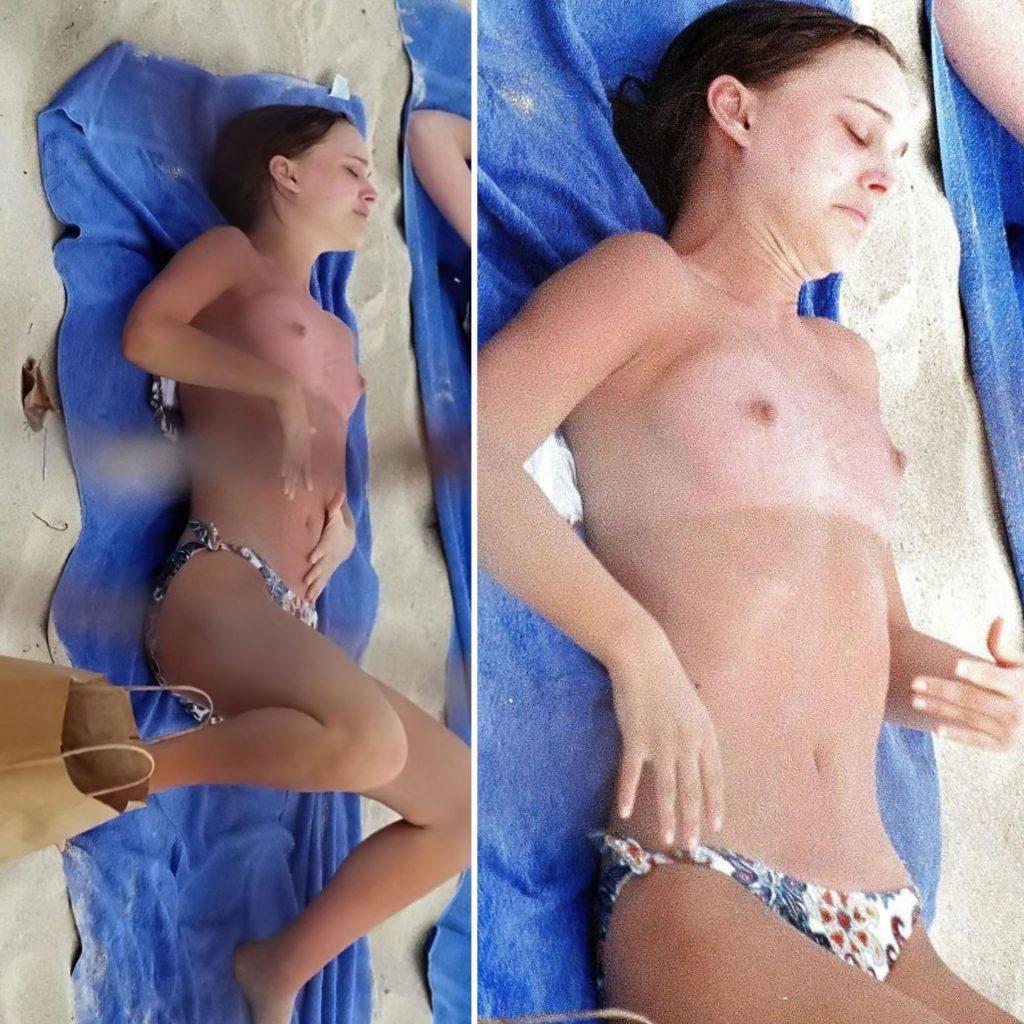 Natalie Portman Nude (1 Collage Photo)