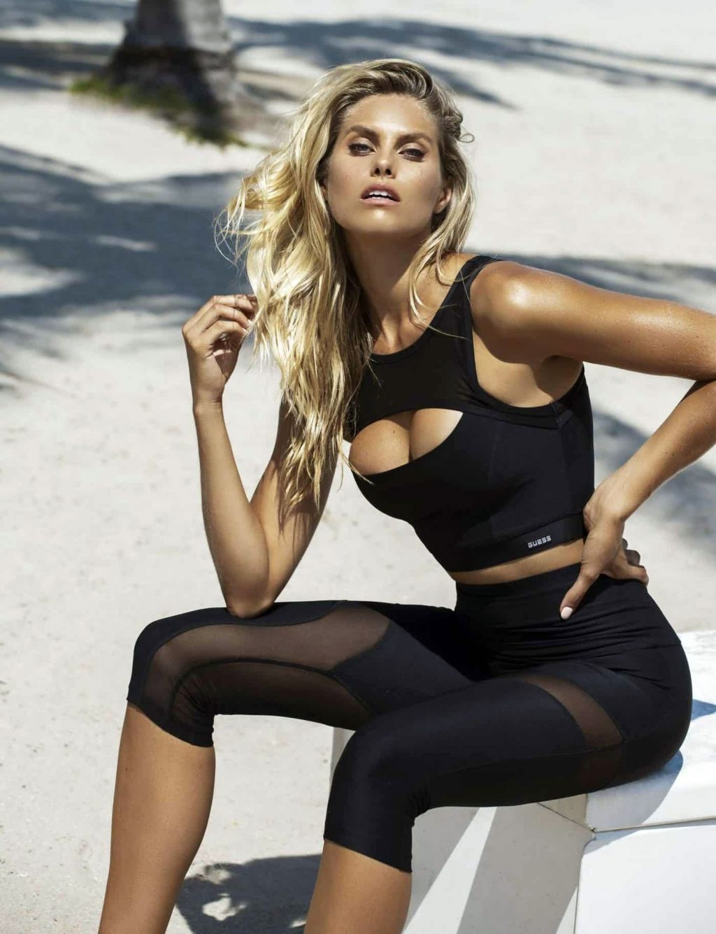 Natalie Roser Poses for GUESS (7 Photos)