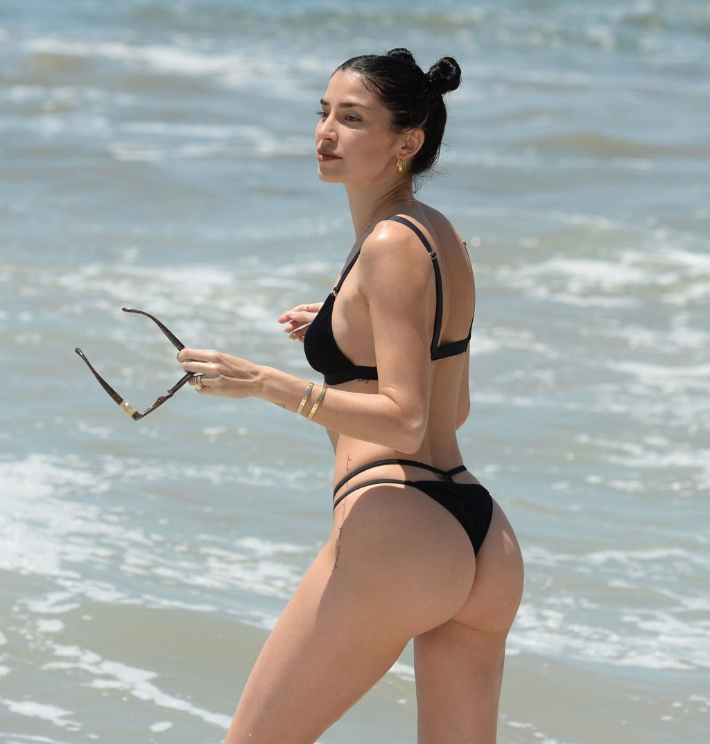 Nicole Williams Shows Off Her Sexy Body on the Beach in Los Angeles (26 Photos)