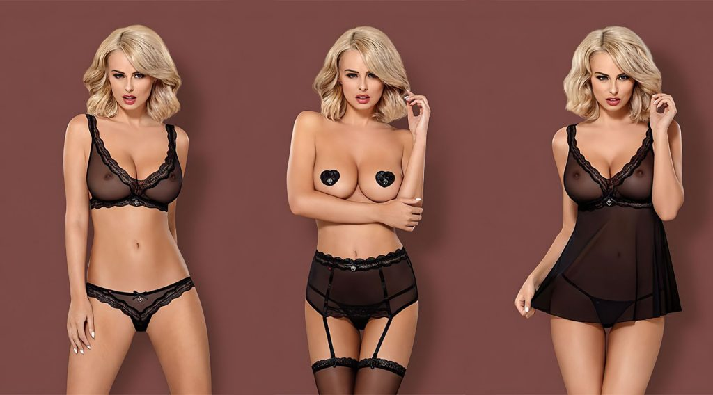 Rhian Sugden See Through – Obsessive Lingerie (17 Slightly Nude Photos)