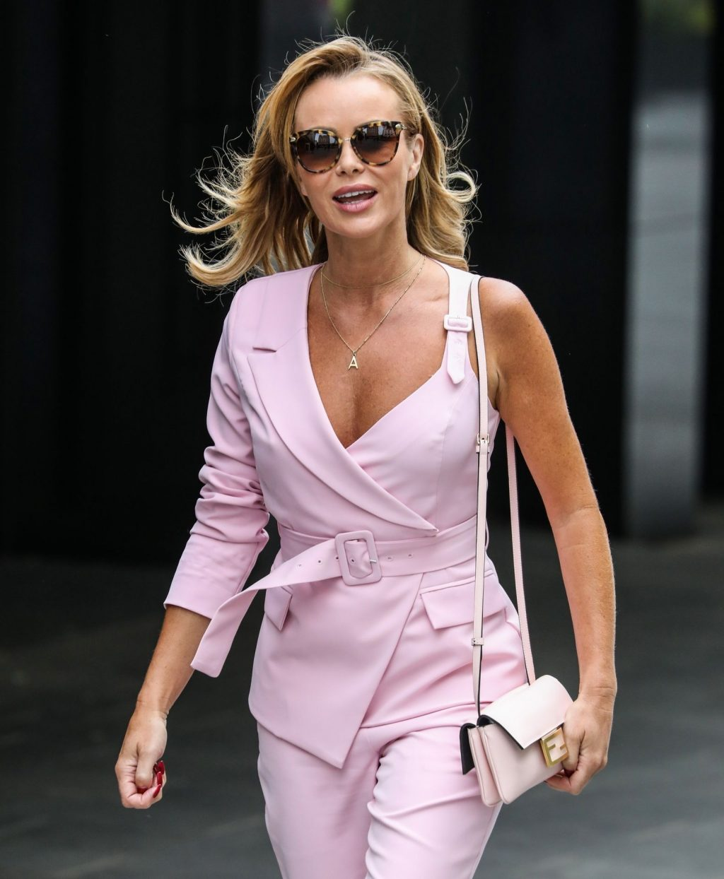 Amanda Holden Looks Hot in All Pink in London (64 Photos)