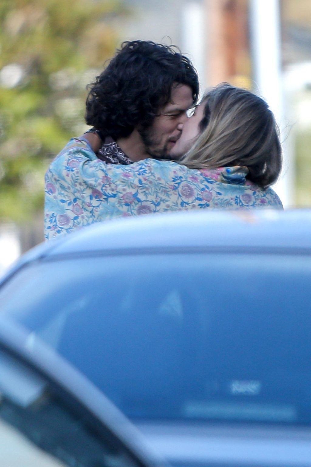 Ashley Hart Packs on the PDA and Shares a Kiss with a Mystery Man (27 Photos)