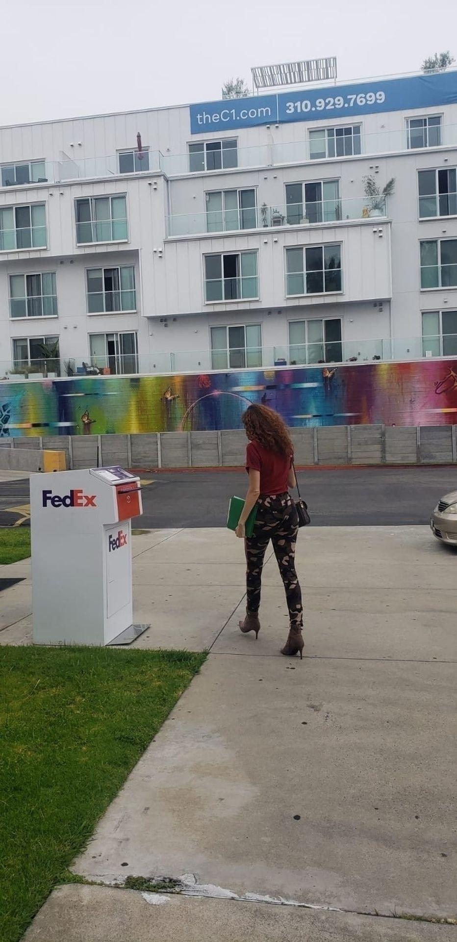 Blanca Blanco Shows Off Her Tits in LA (23 Photos)