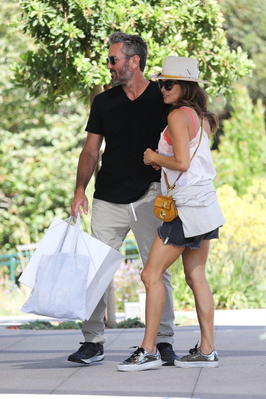 Brooke Burke & Her Boyfriend Show Some PDA in Malibu (50 Photos)
