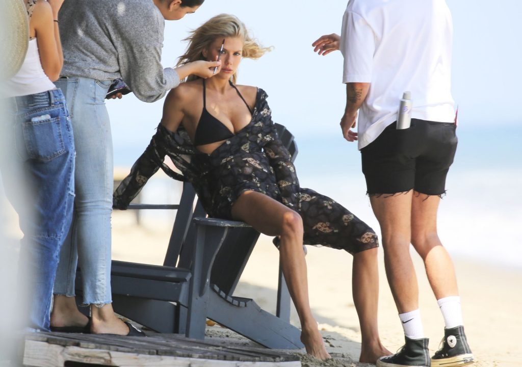 Charlotte McKinney Hits the Beach for a Photo Session in LA (20 Photos)