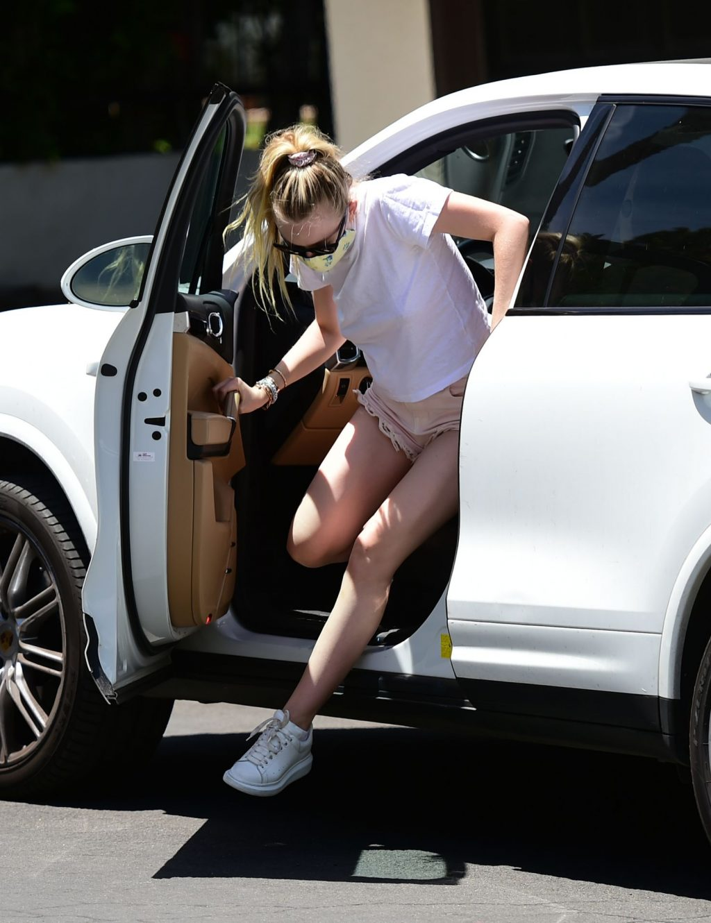 Dakota Fanning is Pictured Out and About in LA (25 Photos)