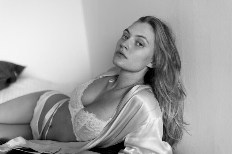 Eline Lykke See Through (8 Photos)