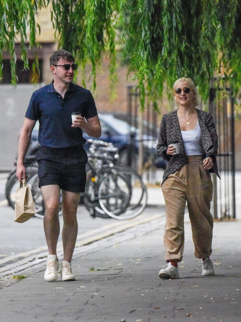 Paul Mescal & India Mullen Were Seen Out in East London (24 Photos)
