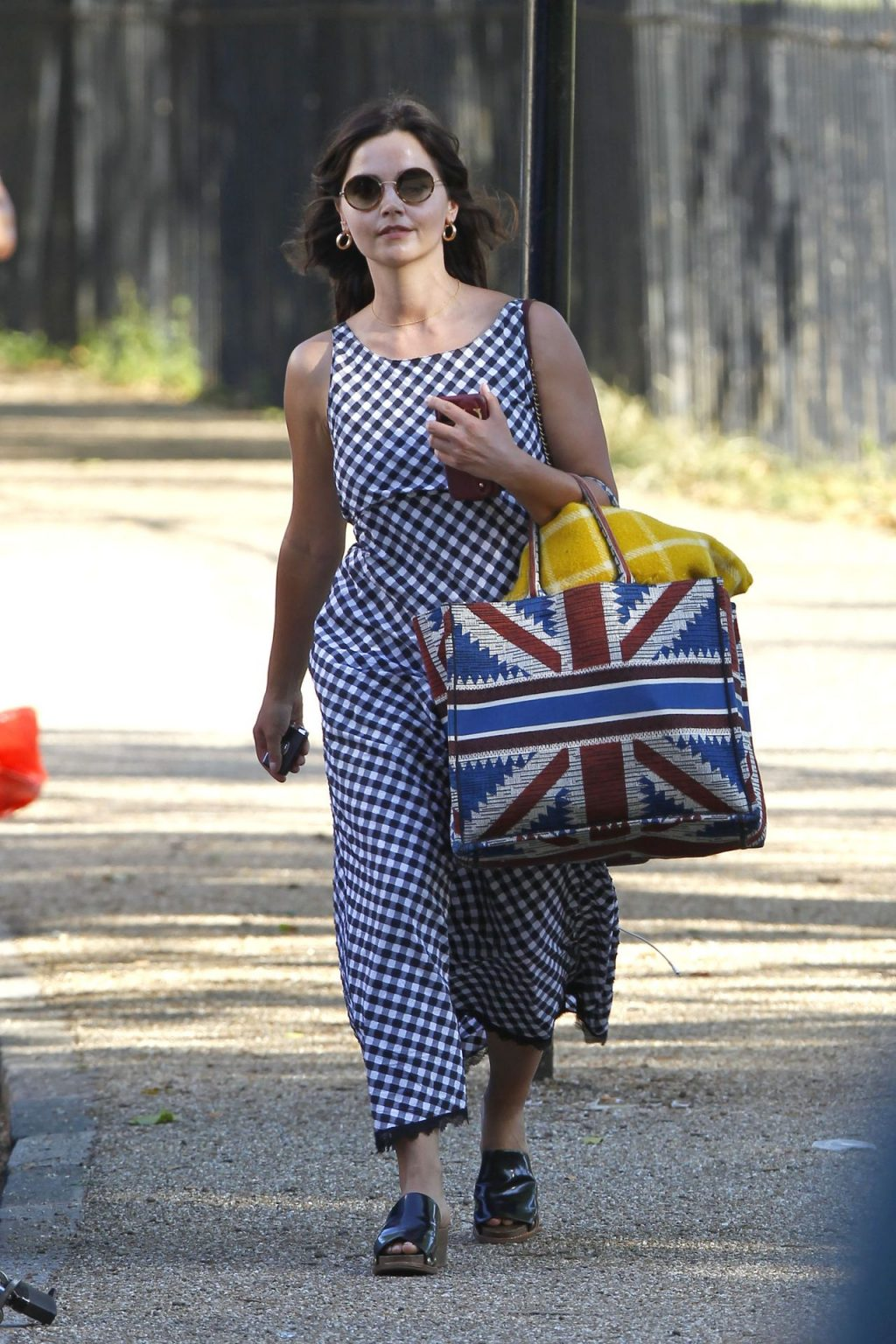 Jenna Coleman Is Spotted At a London Park With a Friend (49 Photos)