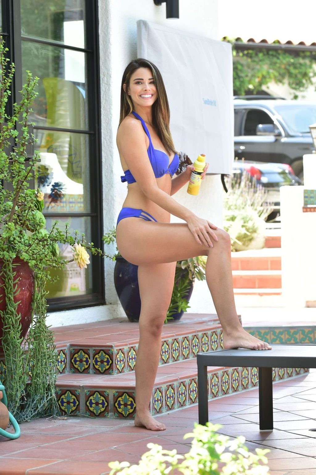 Jennifer Lahmers Is Rocking a Little Blue Bikini (20 Photos)