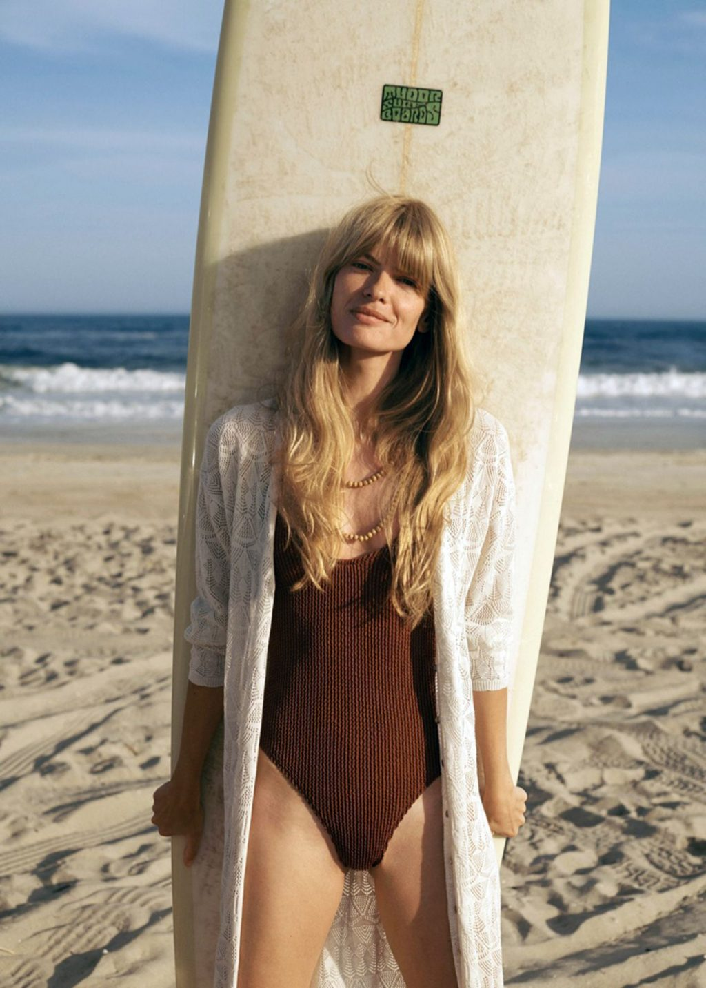Julia Stegner Poses for the 2020 Campaign of the Spanish Brand Mango (11 Photos)