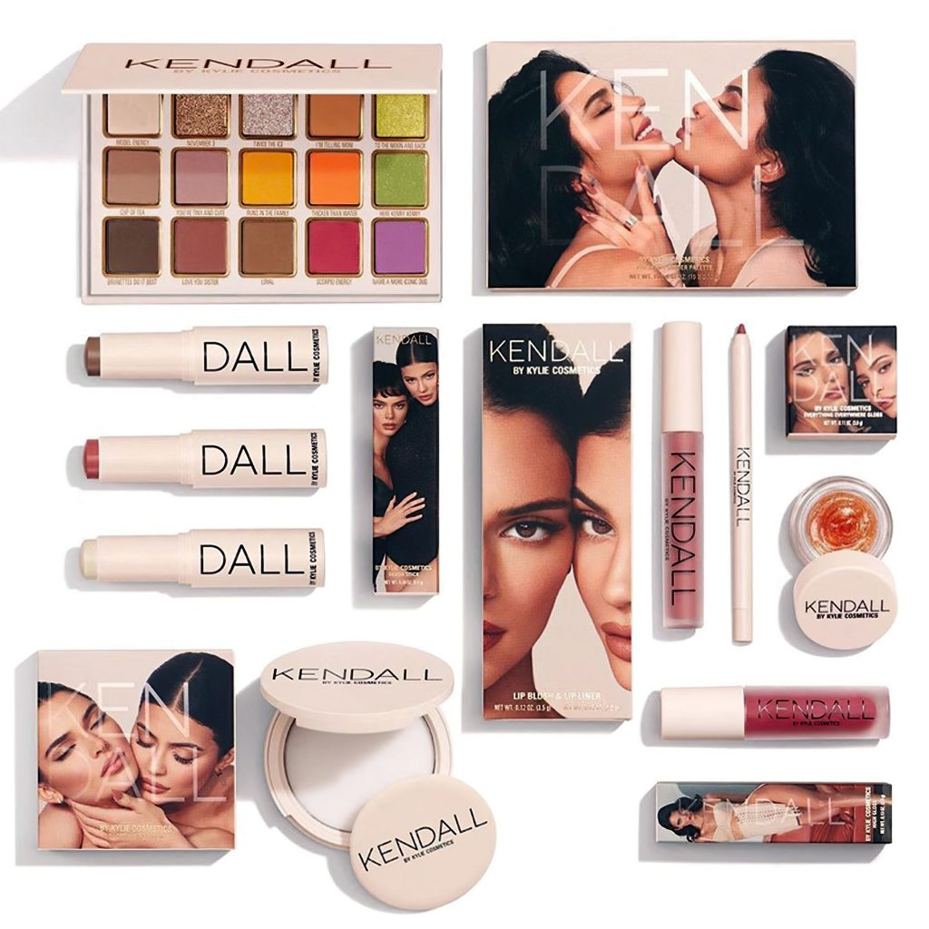 Kendall & Kylie Jenner Pose for Their Beauty Product Launch (4 Photos)