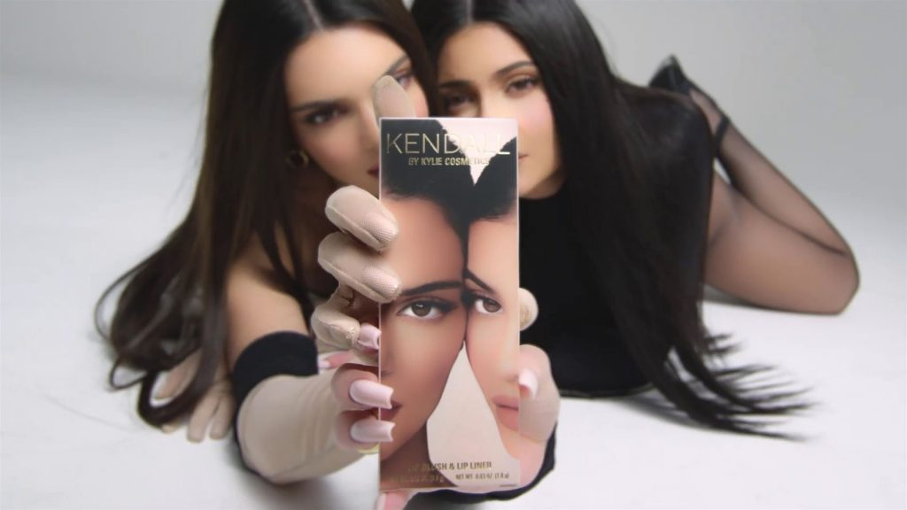 Kendall & Kylie Jenner Present Their New Cosmetic Collection (66 Pics + Video)
