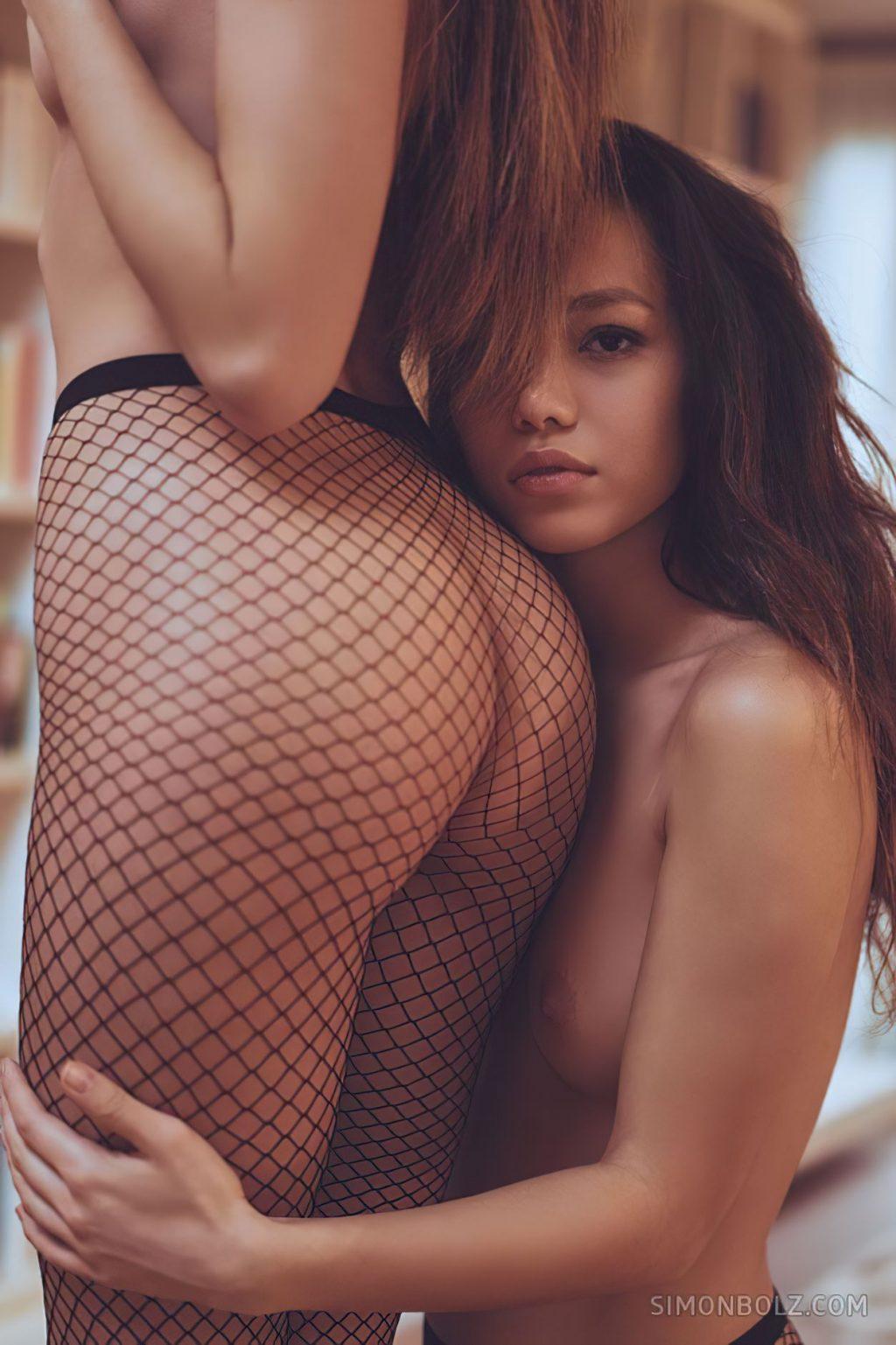 Kitrysha & Chiara Bianchino Nude (15 Photos)