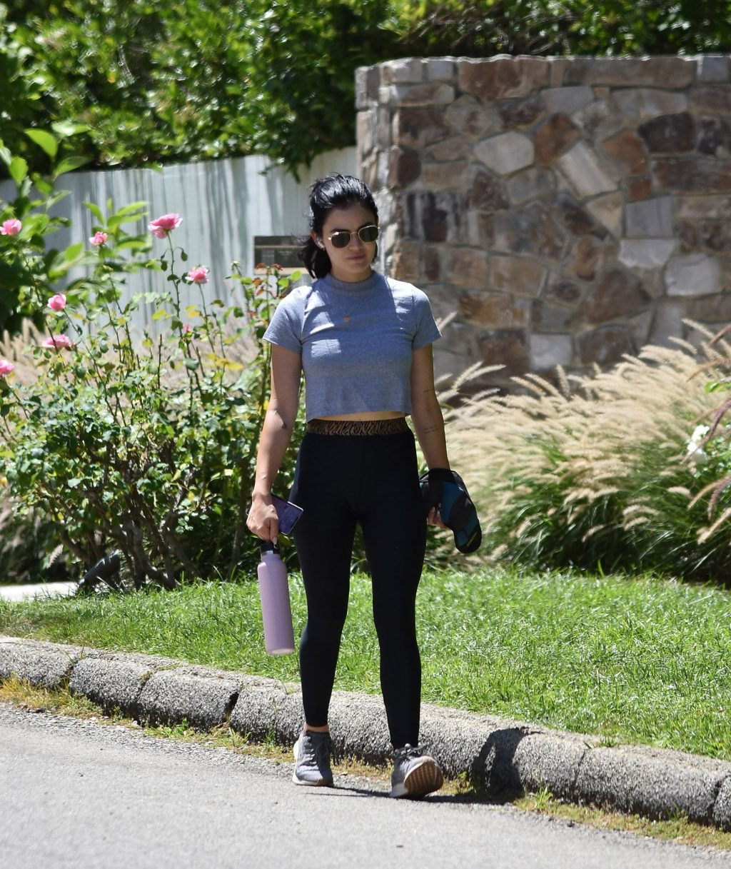 Sexy Lucy Hale Heads Out for a Walk in LA (90 Photos)