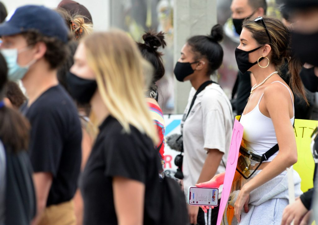 Madison Beer is Spotted at Black Lives Matters Rally in West Hollywood (24 Photos)
