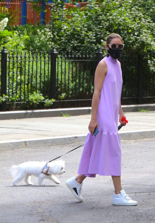 Olivia Palermo Looks Stunning Braless in Brooklyn (5 Photos)