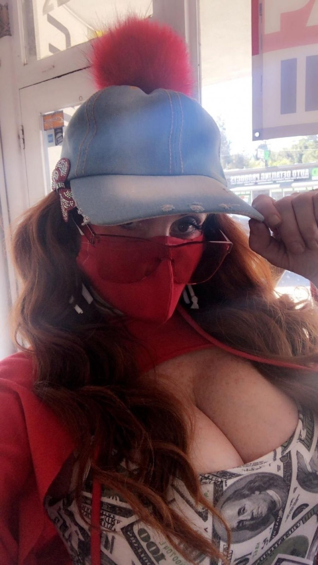 Phoebe Price Shows Off her Cleavage in WeHo (26 Photos)