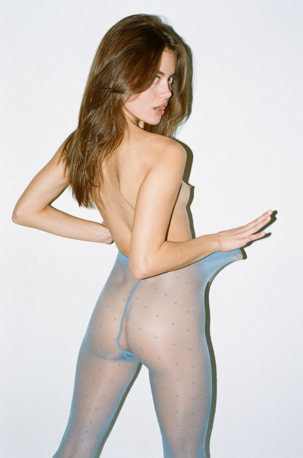 Rachael Lange Poses Nude in Tights (15 Photos)