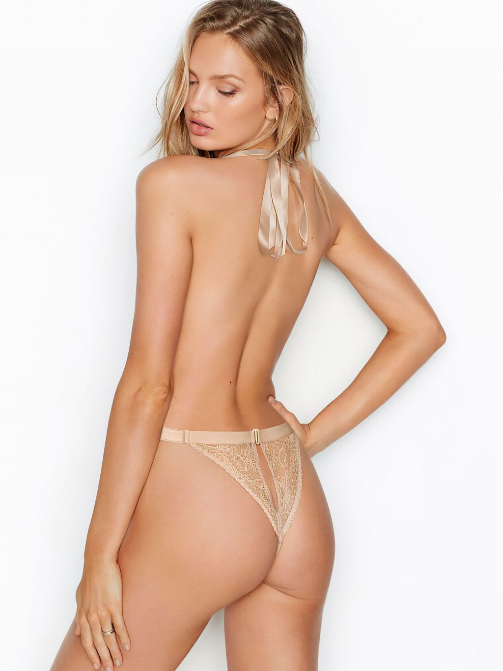 Sexy Romee Strijd Poses For a New Advertising Campaign (12 Photos)