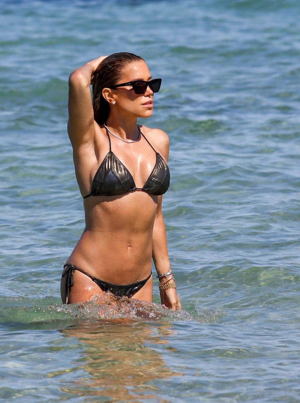 Sylvie Meis Displays Her Sexy Body in a Bikini on the Beach (64 Photos)