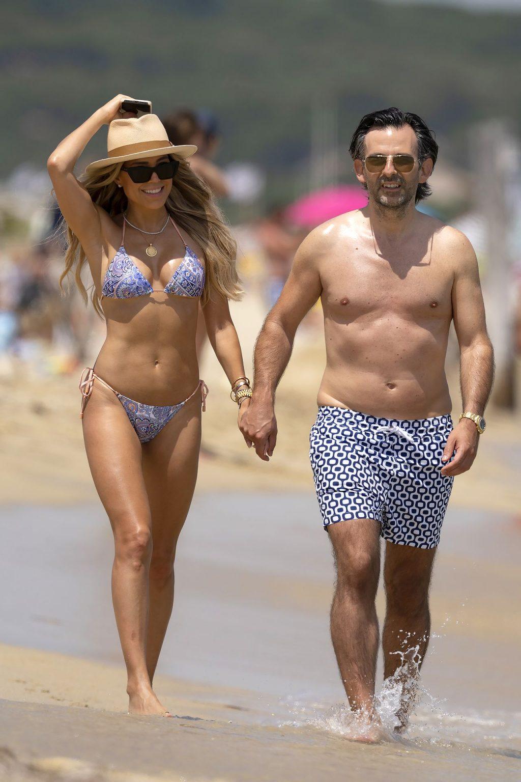 Sylvie Meis & Her Future Husband Enjoy Their Vacation in Saint Tropez (44 Photos)