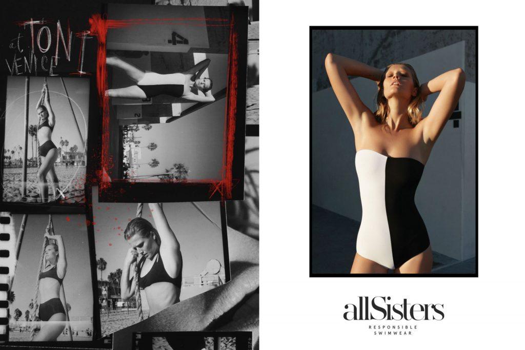 Sexy Toni Garrn Models for AllSisters (21 Photos)