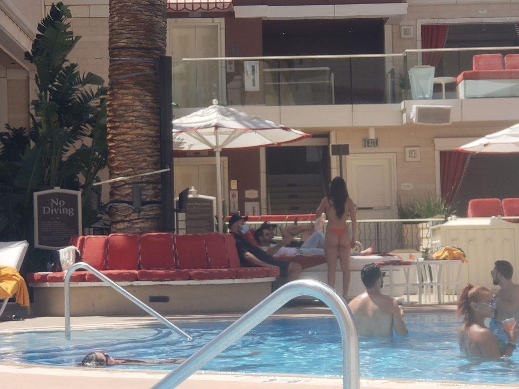 Jesse Metcalfe & Valeria Luck Party in Las Vegas (14 Photos)