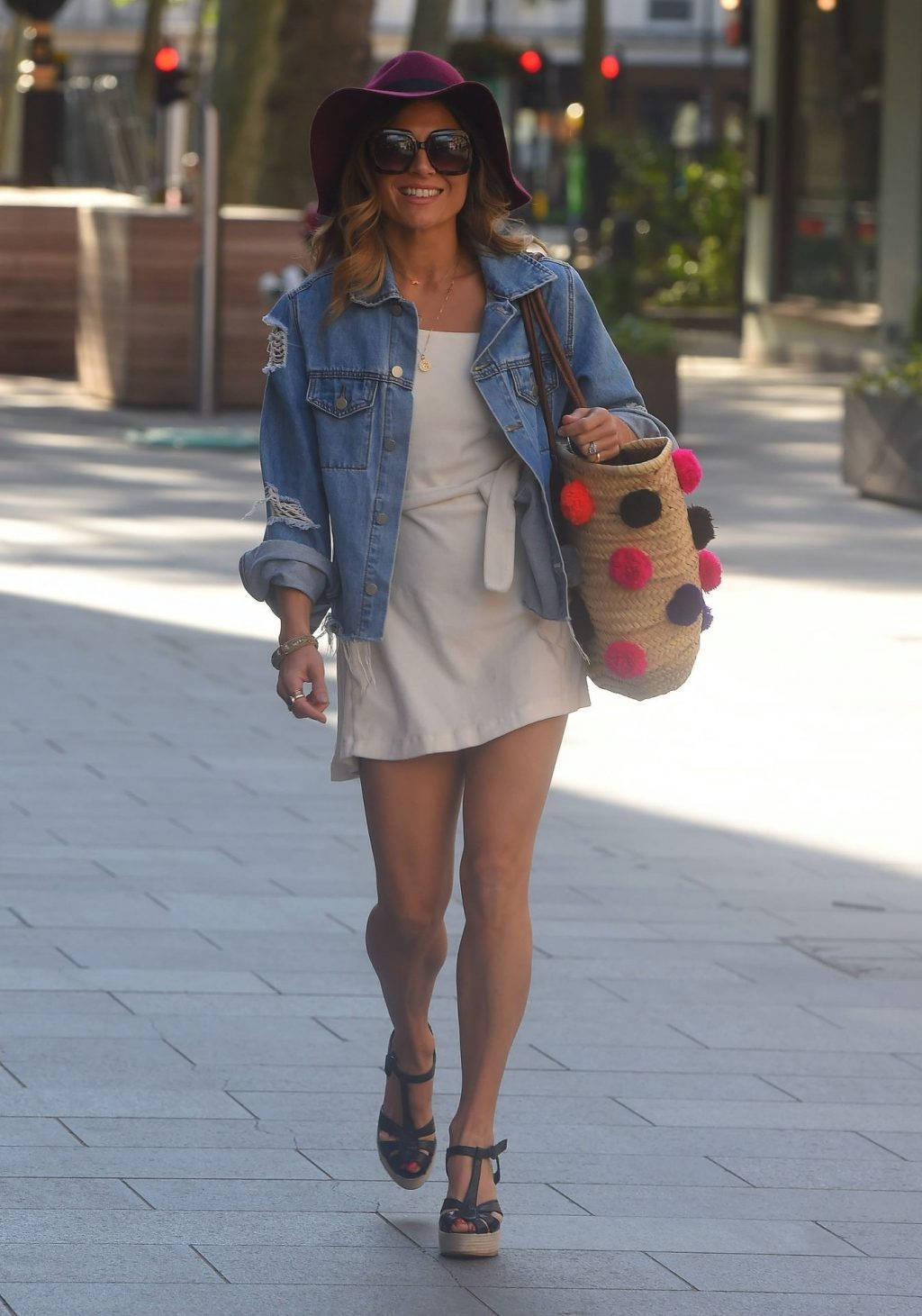 Zoe Hardman Shows Off Her Sexy Legs in London (26 Photos)