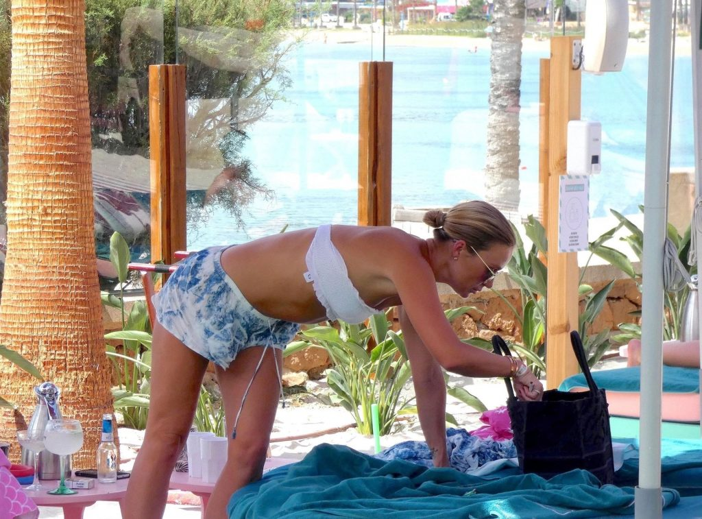 Alex Gerrard Takes a Break on her Spanish Sunshine Holiday out in Ibiza (35 Photos)