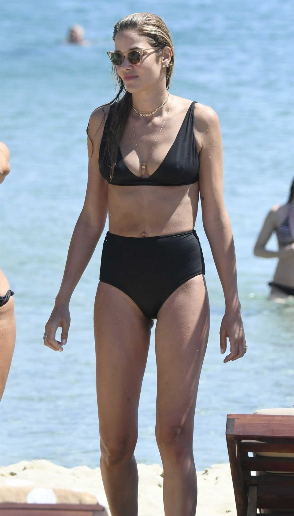Ana Beatriz Barros Spends Her Time at the Beach in Mykonos (33 Photos)