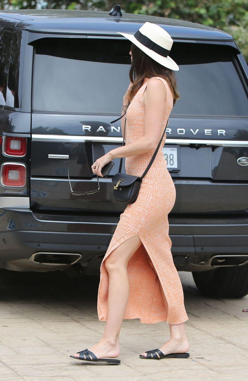 Beautiful Fashionista Ana de Armas Looks Hot at Nobu (46 Photos)