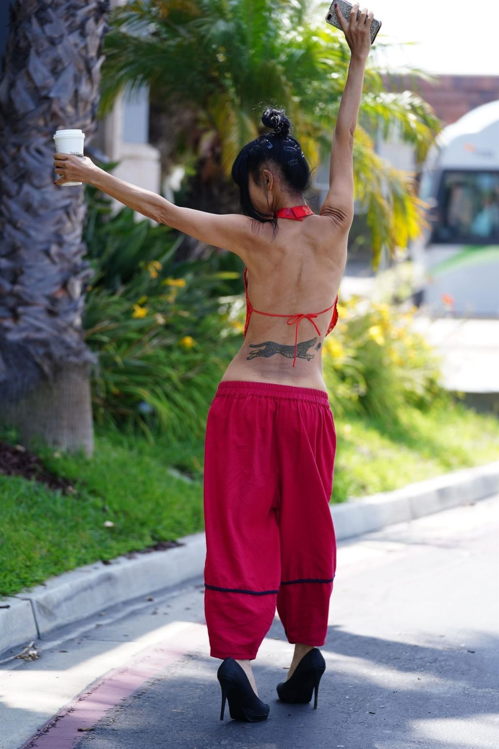 Bai Ling Shows Her Sexy Slim Body in West Hollywood (83 Photos)