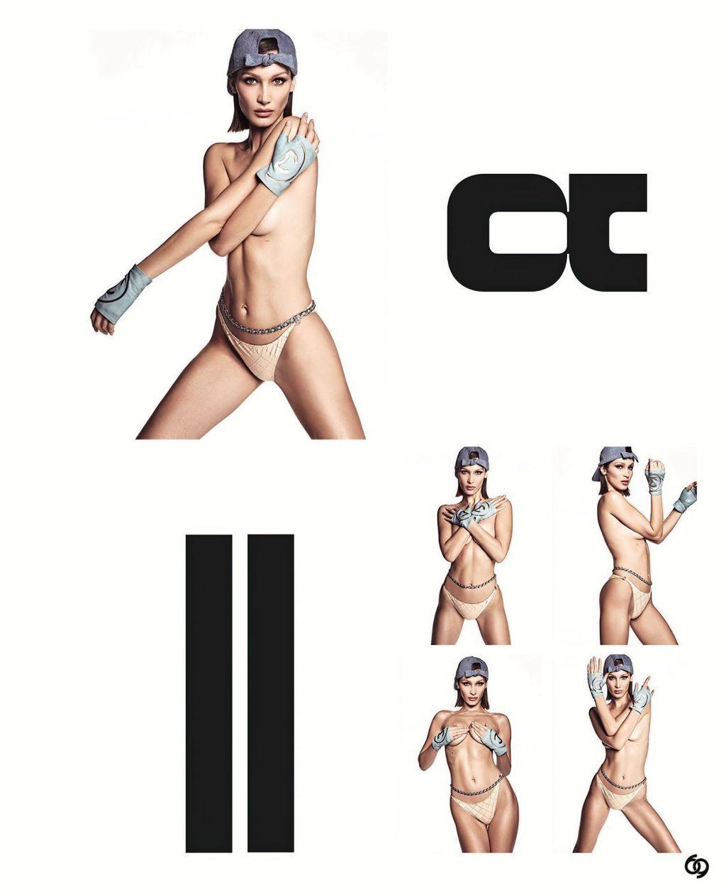 Bella Hadid Topless – Chaos SixtyNine (10 Photos)