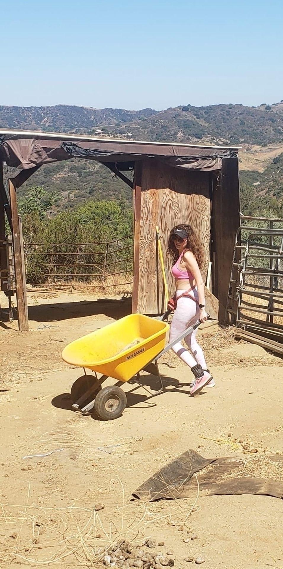 Sexy Blanca Blanco Goes Hiking in Malibu (46 Photos)