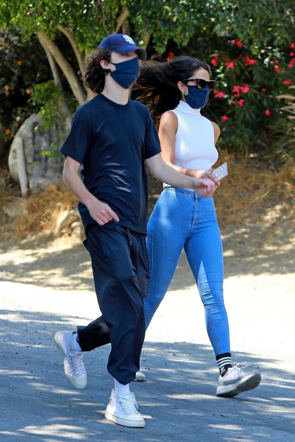Braless Eiza González & Timothée Chalamet Go for a Hike in LA (15 Photos)
