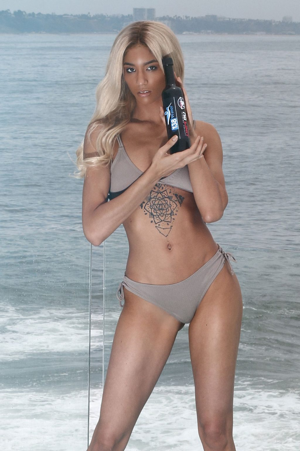 Briana Marie Shoots a New Campaign for the 138 Water CBD in Malibu (28 Photos)