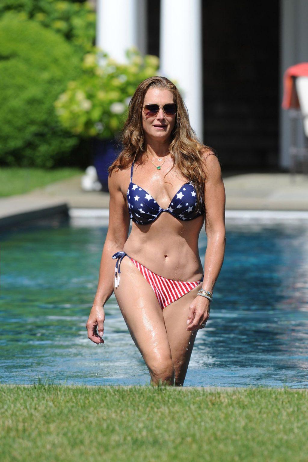 Brooke Shields Is Rocking a Bikini After Turning 55 (21 Photos)