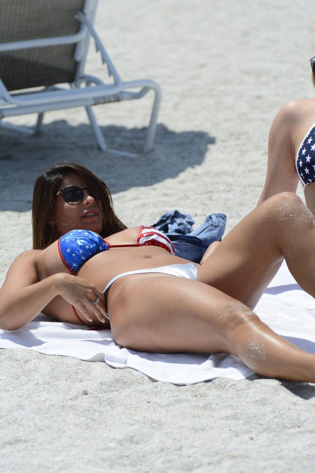 Carmen Valentina & Donna Bella Heat Up the Beach (23 Photos)
