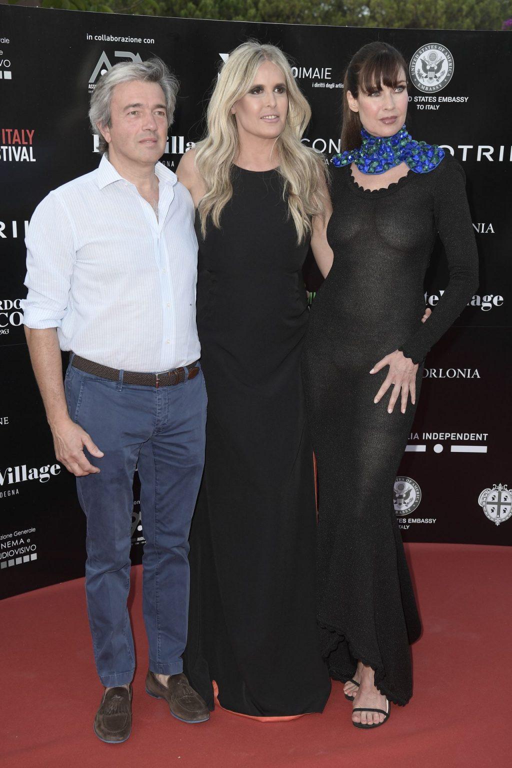 Carol Alt Stuns in a See Through Dress in Cagliari (10 Photos)