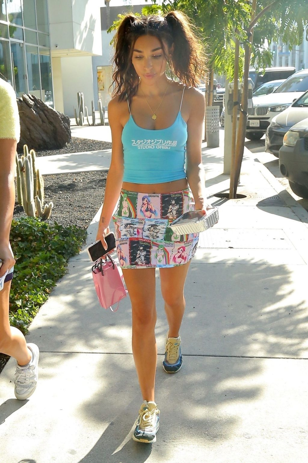 Chantel Jeffries Looks Casually Chic as She Is Spotted Having Lunch in WeHo (19 Photos)