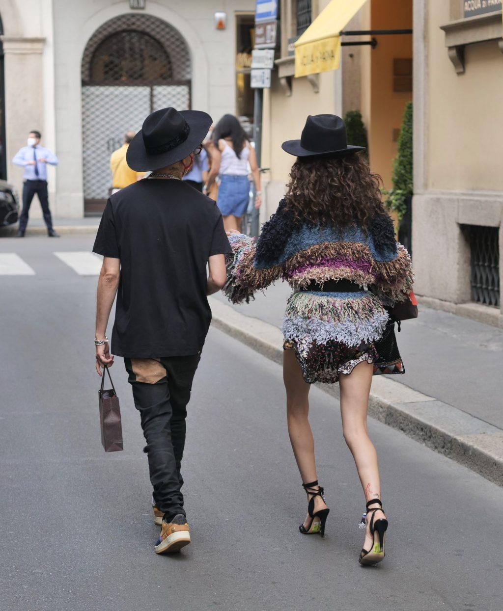 Leggy Chiara Scelsi & Darkwaynesantana Are Seen in Milan (48 Photos)