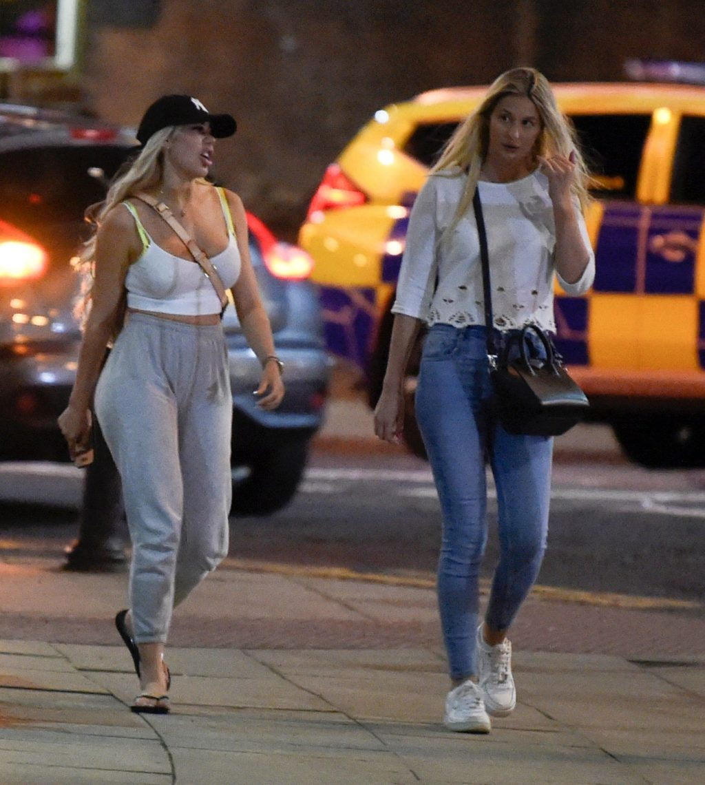 Busty Chloe Ferry Is Seen in Manchester (18 Photos)