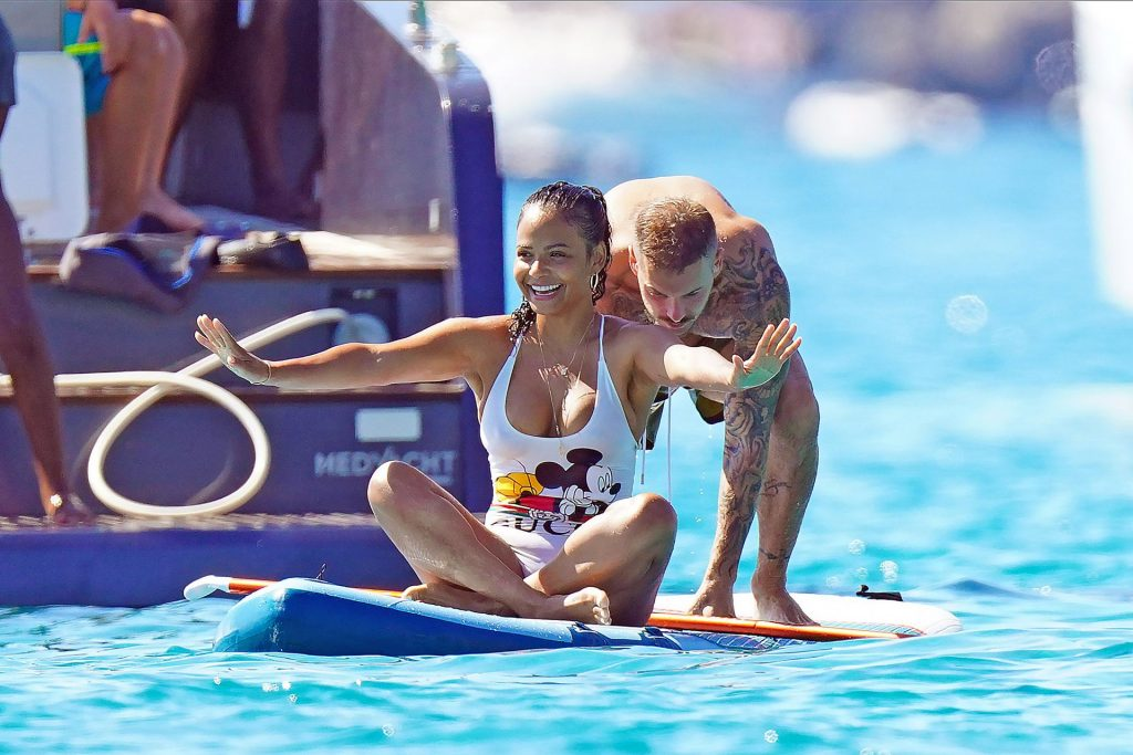Christina Milian Is Seen on a Boat During Holidays in St Tropez (25 Photos)
