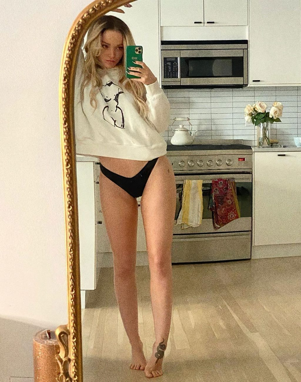Dove Cameron Is Close to Normal Nudity (11 Photos + Video)