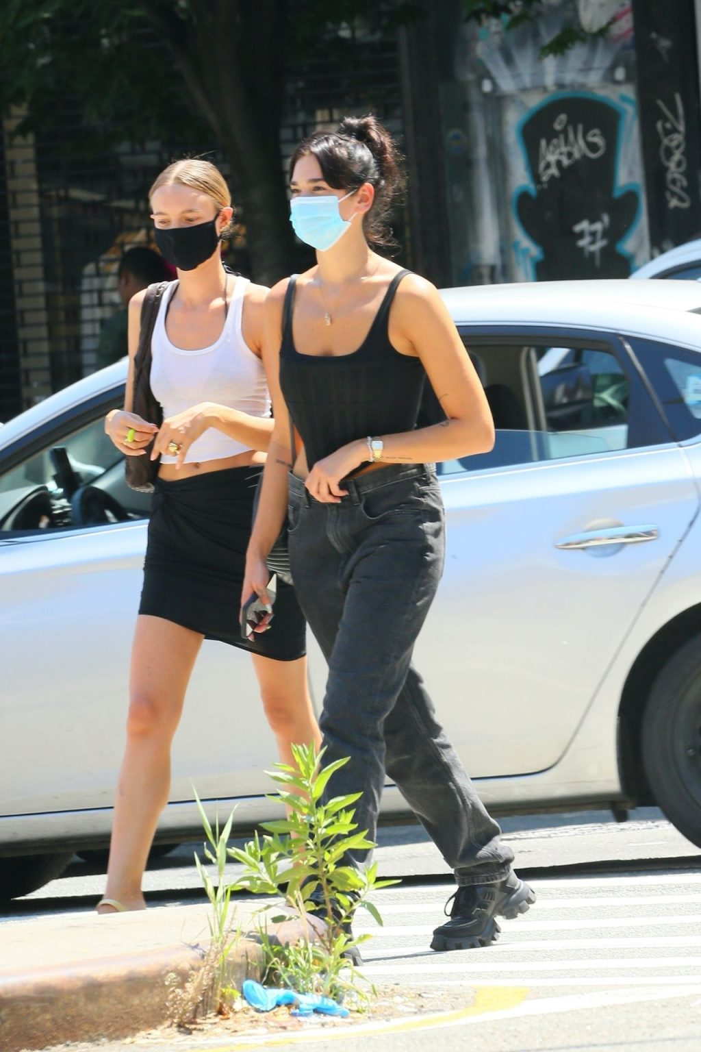 Dua Lipa Waits for Her Lunch in NYC (17 Photos)