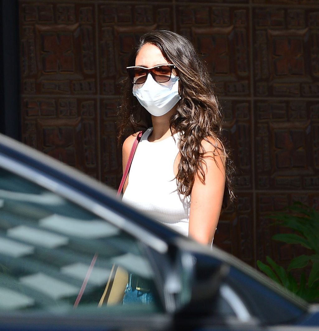 Sexy Eiza Gonzalez Goes Braless in Beverly Hills (15 Photos)