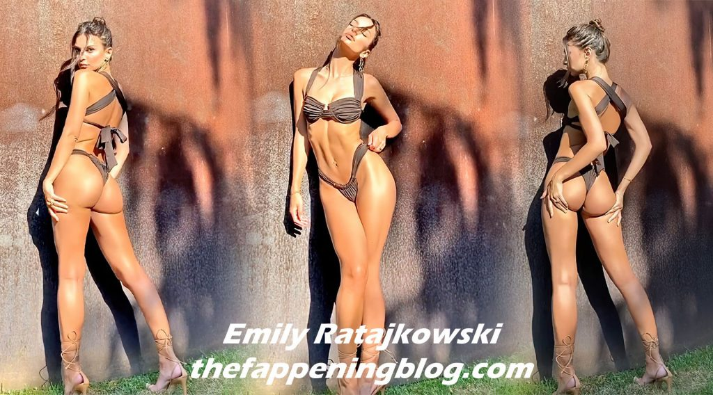 Emily Ratajkowski Poses in Sexy Bikinis (19 Photos + GIF & Video)