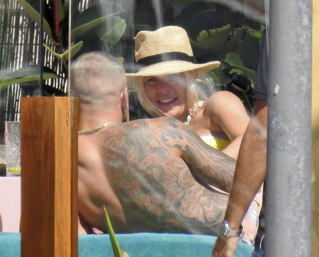Gabby Allen Sizzles in the Spanish Sunshine of Ibiza (58 Photos)