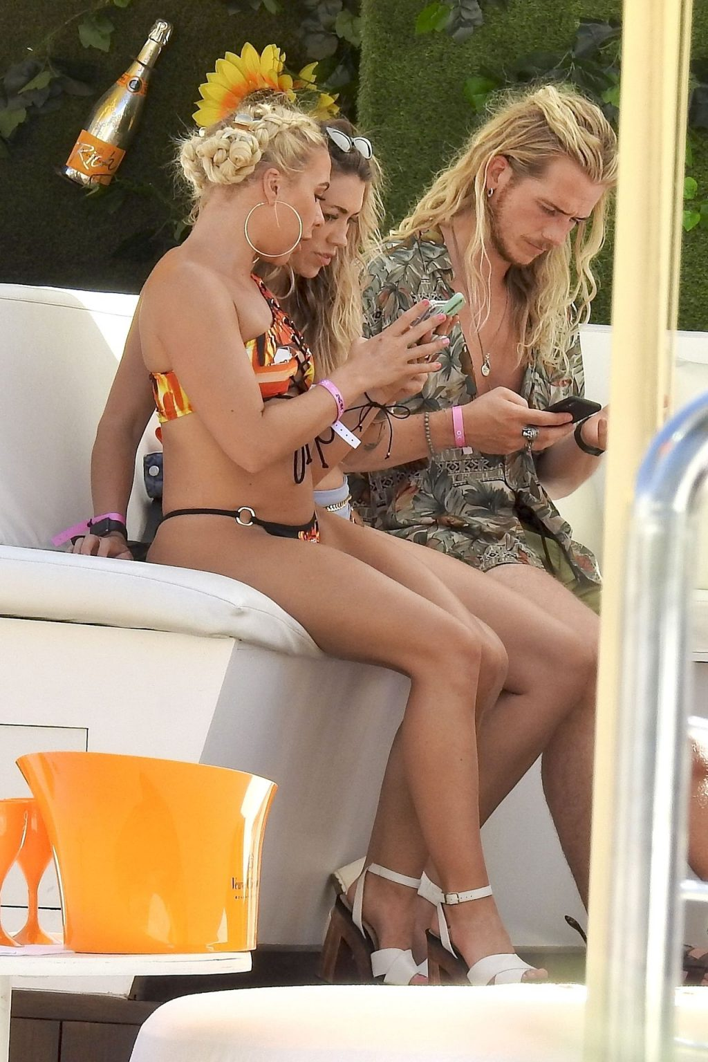Gabby Allen Looks Literally on Fire Wearing Her Bikini Out on Holiday in Ibiza (13 Photos)